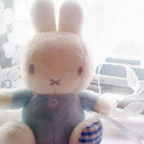 Blue Miffy Plush