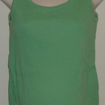 Green Ribbed Tank Top-Old Navy Maternity Size Small  CLTE2