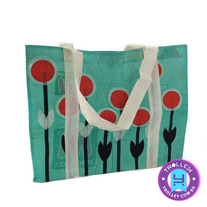 Recycled Pastic Bag - Smackdown Flora