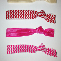 Anne Set- 5 No-Crease Hair Ties