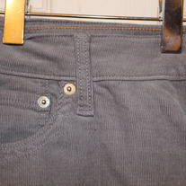 Old Navy Gray Corduroy Skinnies- Size 14
