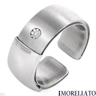 Morellato stainless steel ring