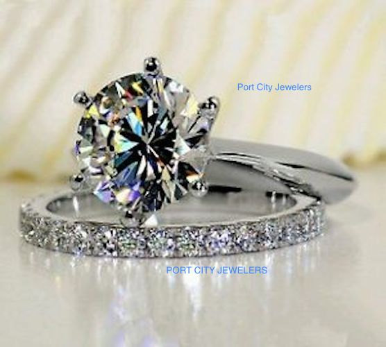 bands engagement diamond ring eternity set white karat gowns glamorous and sets band wedding