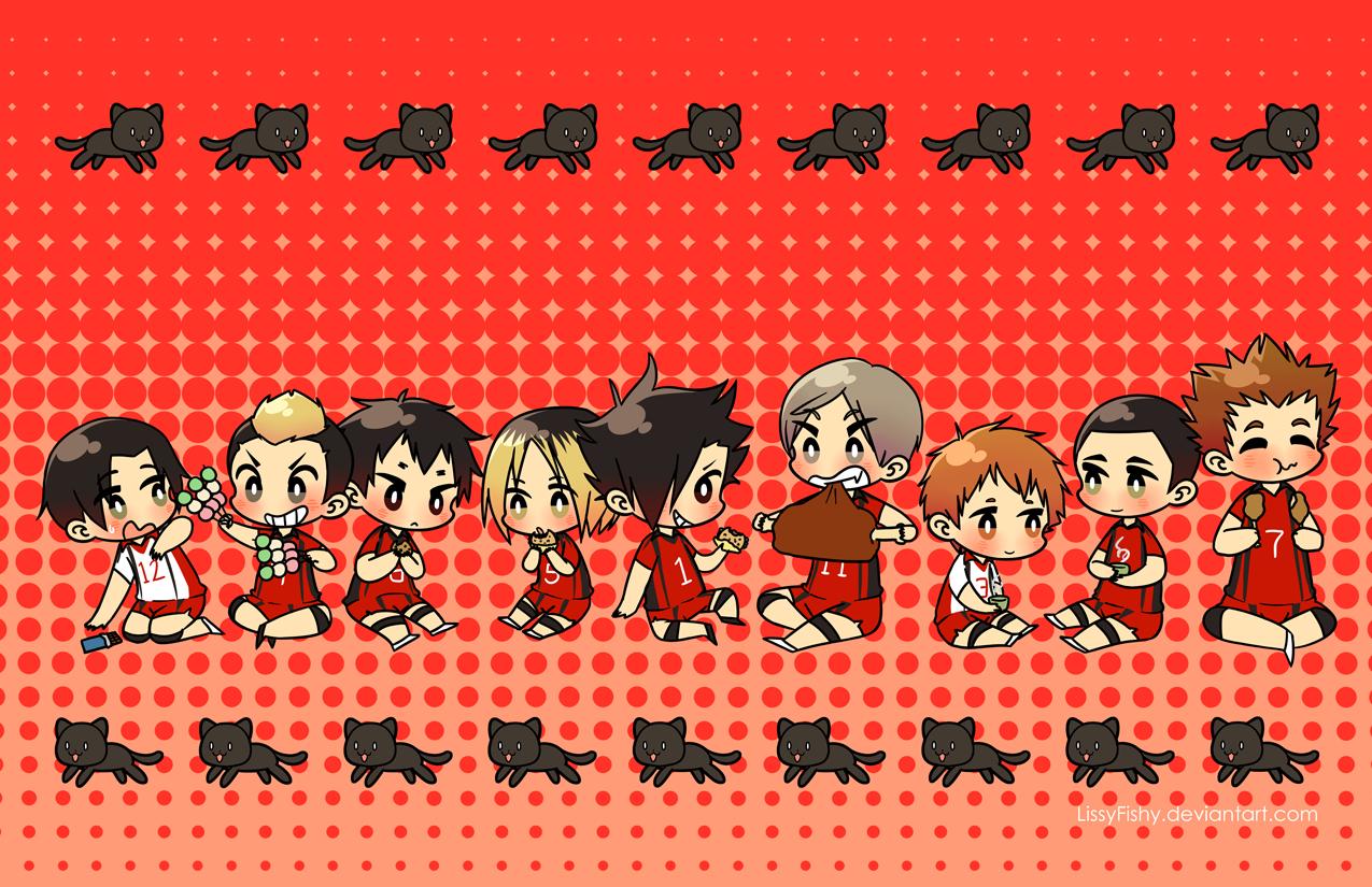Haikyuu Nekoma Team Team Nekoma 11 x 17 in Print