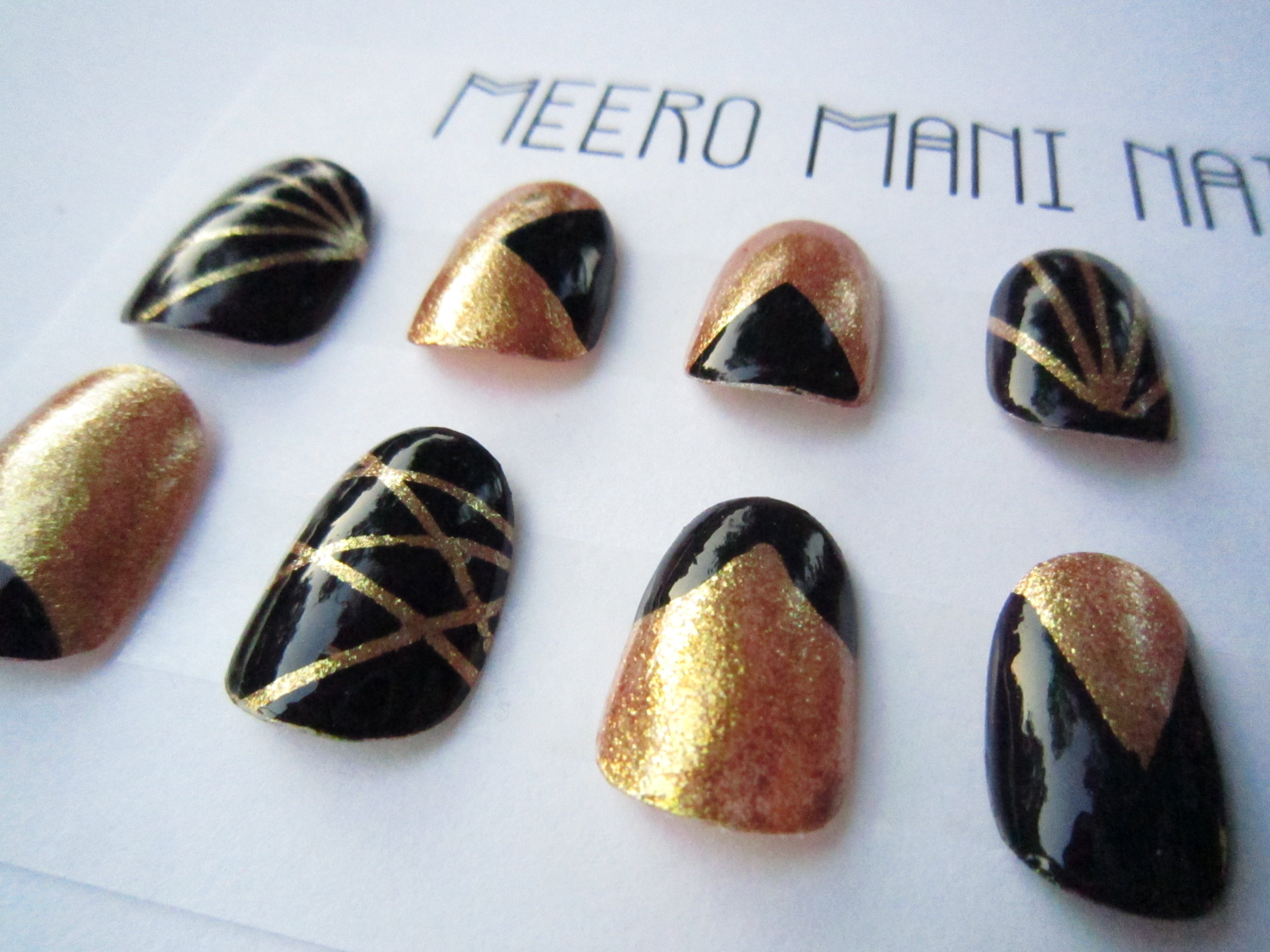 Hollywood Glamour Meero Mani Nails false nails set · MEERO MANI ...