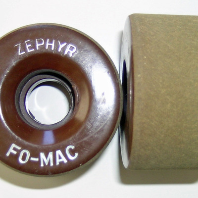 Original zephyr fomac clay rhythm roller skate wheels