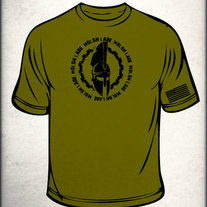 MLCCW Spartan Shirt 2XL (OD Green)