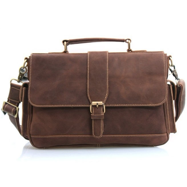 Handmade Vintage Leather Briefcase - 48.2KB