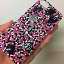 Made-To-Order Genuine Swarovski Crystal Decoden iPhone 5 Case