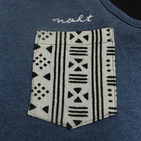 Tribal Lite Tank Top (Denim Heather)