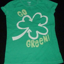 Go Green Shirt-Old Navy Size 8