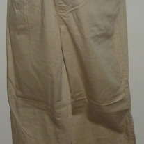Khaki Pants-Announcements Maternity Size Medium  CLSR