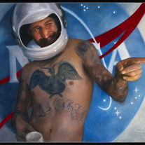 Space Cowboy | Heather McMillen | Original