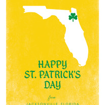 Happy St. Patty's Day, Yellow