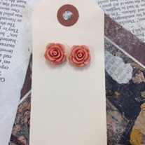 Rose Bud Earrings *More colors available