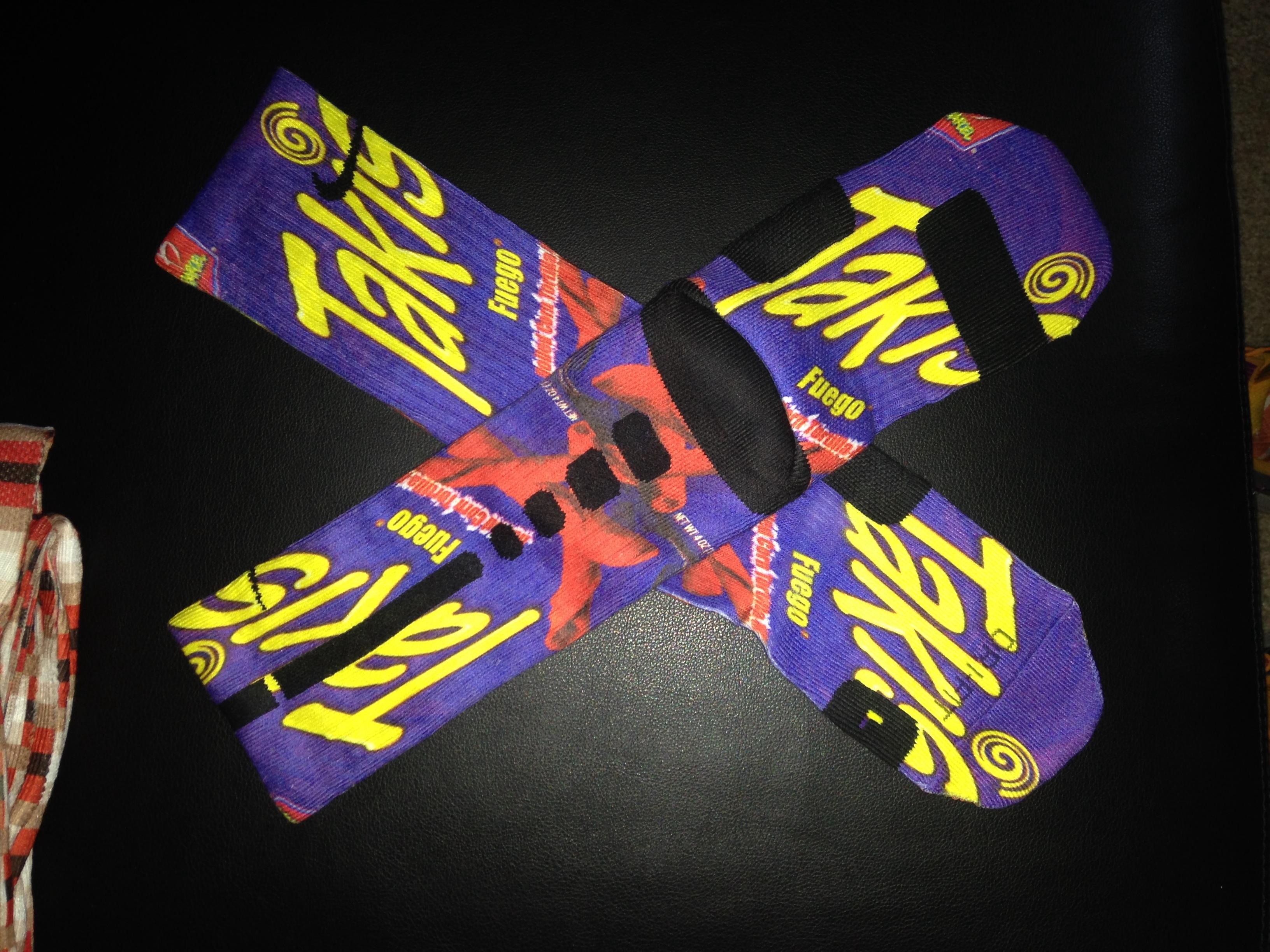 Elite Socks Takis The Image Kid Has It