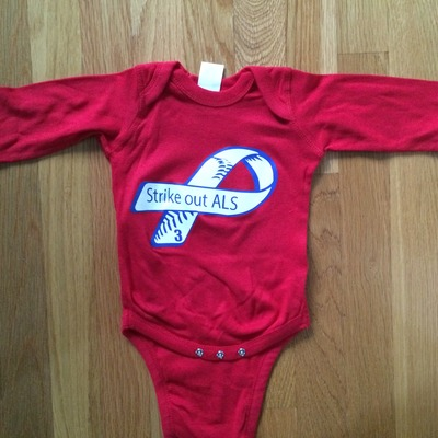 Red frate train #3 long sleeve baby onesie