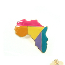 Color Block Africa Stretch Ring