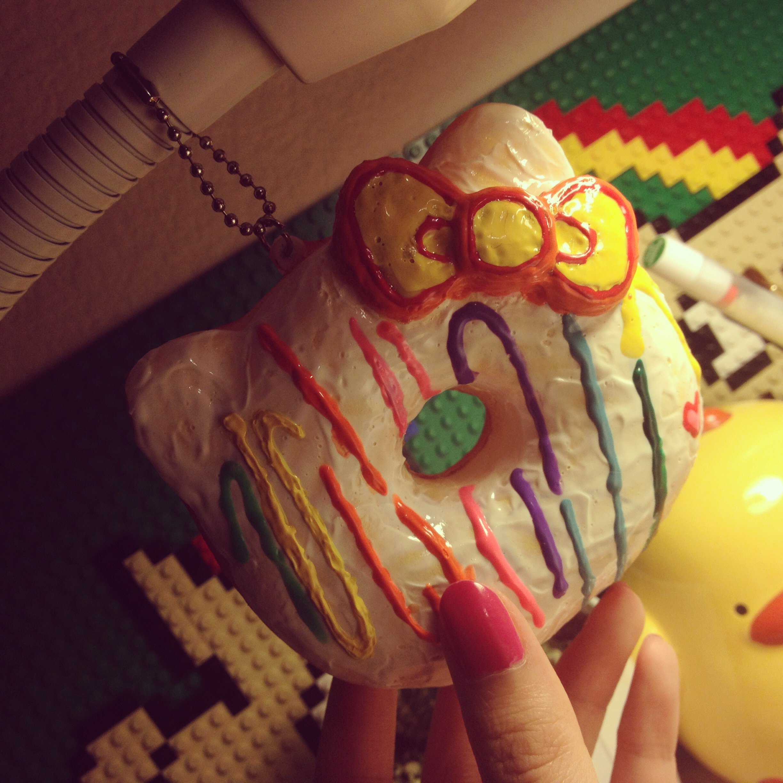 Diy Squishy Hello Kitty : DIY Deco Squishy - Hello Kitty Donut Squishy (Type B) ? Daisy s Kawaii Store ? Online Store ...
