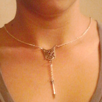 Inspired by the hunger games Arrow Necklace