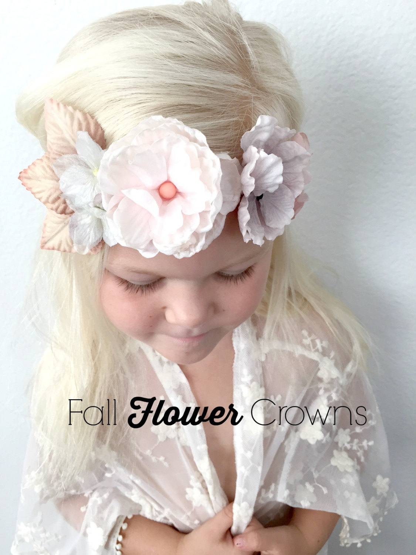 Woodland Flower Crown Luxie Blooms