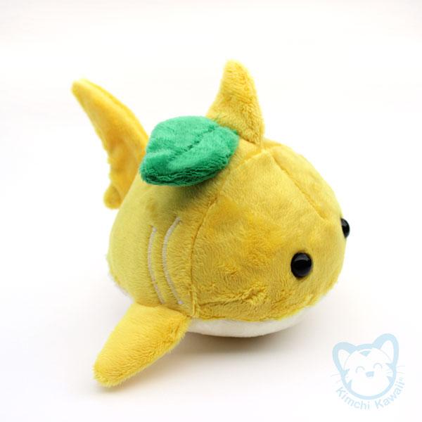 Lemon Shark Toys : Cute handmade plush kawaii shark bun · kimchi