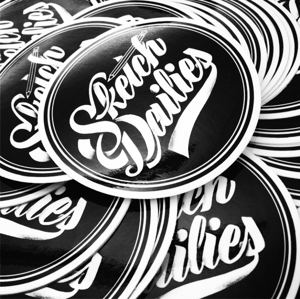 Vinyl logo stickers 2 pack