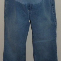 Denim Jeans-Motherhood Maternity Size Medium  031429