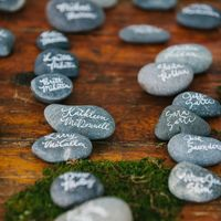 100 Wishing Stones - (Natural) Guest Book Alternative - Unique, Fun, & Eco Friendly - Thumbnail 3