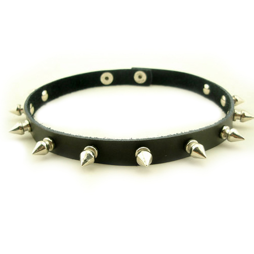 Geekjoy 2in1 cool rivet leather necklace bracelet for Rivets for leather jewelry