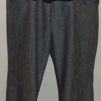 Black Speck Dress Pants-Liz Lange Maternity Size 10  03214