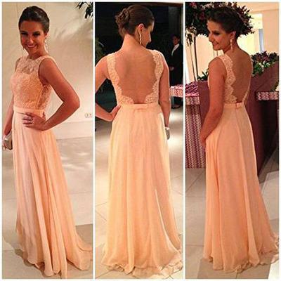 Kleid in rose gold