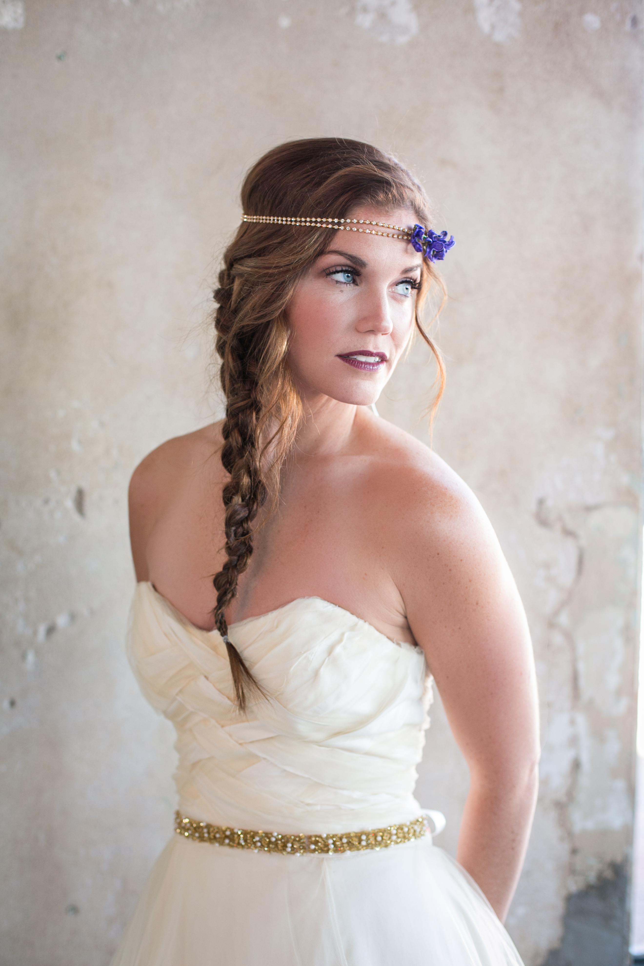 Gold & Pearl Beaded Wedding Sash Belt - Thin bridal belt on ribbon ...