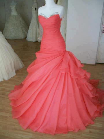 Sweetheart Girl | Gorgeous Ball Gown Sweetheart Sweep Train Prom ...
