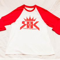 RK Classic Baseball (White/Red)