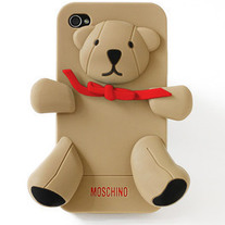 New Chic Luxury Designer Teddy Bear Brown iPhone Cases