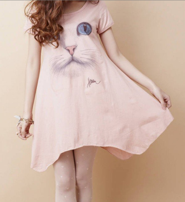 Cat Face t Shirts Cat Face Shirt Dress