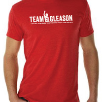 TG Brand Red Mens Tshirt