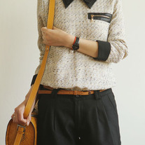 TWEED SHIRT