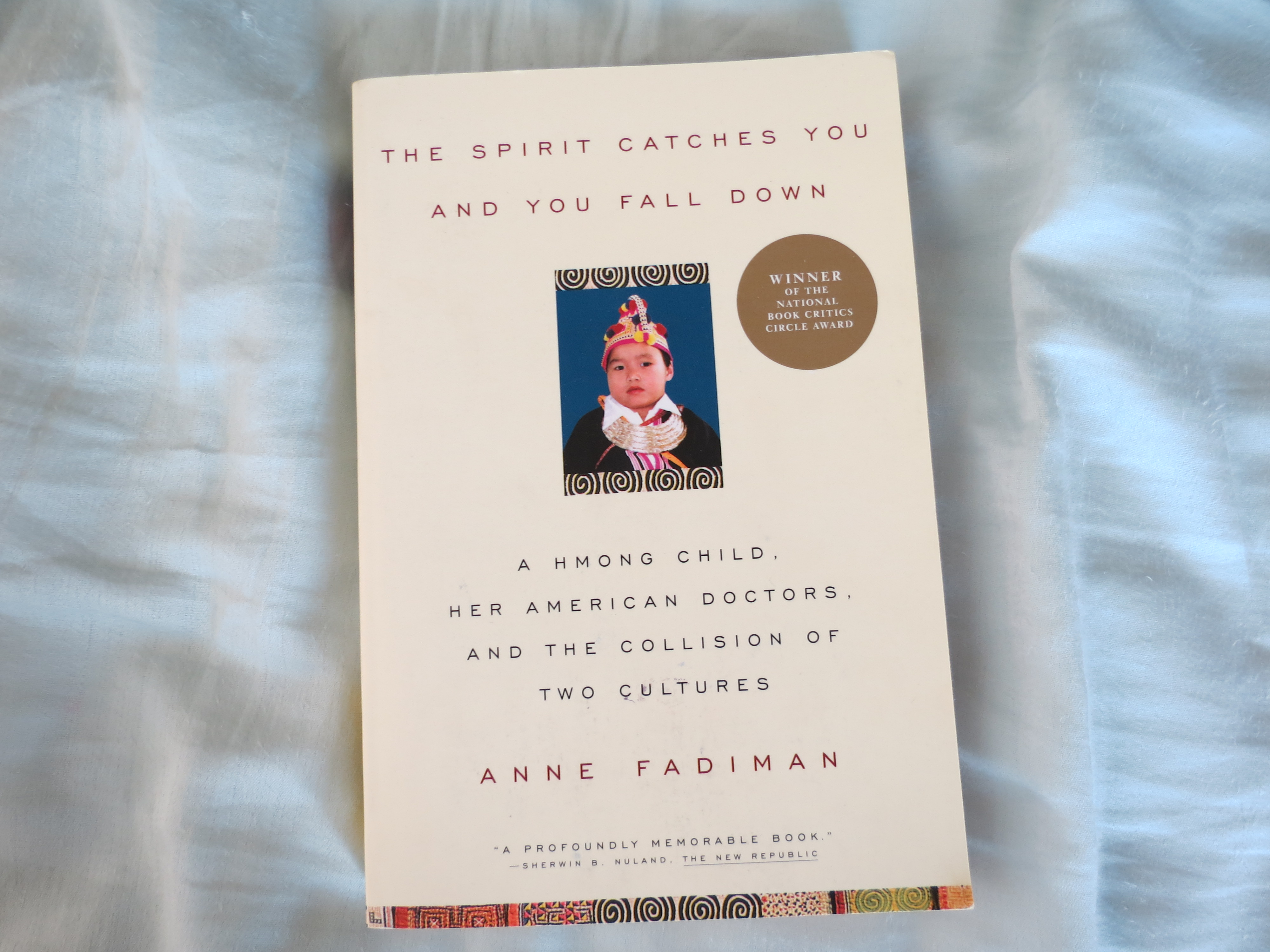 the spirit catches you and you fall down book essay A collection of first-person essays on books and reading the spirit catches you and you fall down: the best american essays 2003 by anne fadiman.