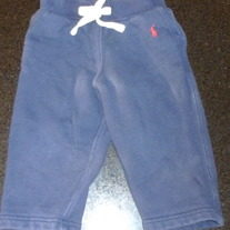 Navy Blue Sweat Pants-Polo Ralph Lauren Size 18 Months