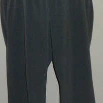 Gray Dress Pants-Motherhood Maternity Size 1X  04078