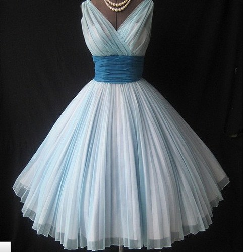 Home - Charming Sweetheart Vintage Chiffon prom dress