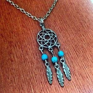 Tribal Dream Catcher Necklace