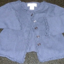 Navy Blue Button Sweater-Baby Gap Size 3T