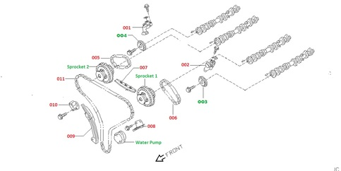 2005 Nissan Maxima Engine Diagram Justanswer together with Belt further Honda 3011 Wiring Diagram additionally Nissan Micra Engine Parts in addition T17281358 Timing chain diagram nissan 1400 1999. on nissan juke timing chain parts