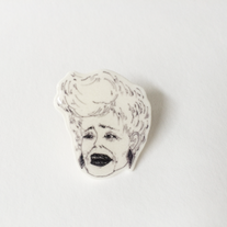 Blanche Devereaux Illustrated Pin  medium photo