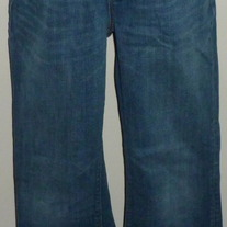 Denim Jeans-Gap Maternity Original Long and Lean Size 6 Regular  04128
