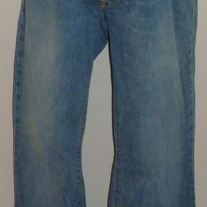 Denim Jeans-Gap Maternity Original Long and Lean Size 6 Regular  041212