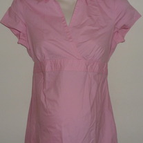 Pink Short Sleeve Top-Motherhood Maternity Size Medium  SF0413
